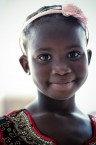 Girl at Wedding, Zambia