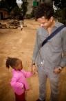 Timbuktu and girl, Lusaka, Zambia
