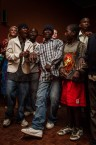 Kids at concert of Timbuktu and DAMN! , Lusaka, Zambia